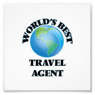 World's Best Travel Agent Photo Art