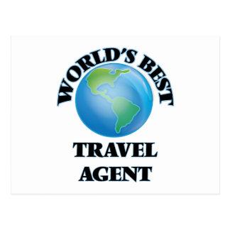 World's Best Travel Agent Postcard