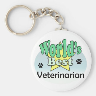 World's best Veterinarian Key Ring