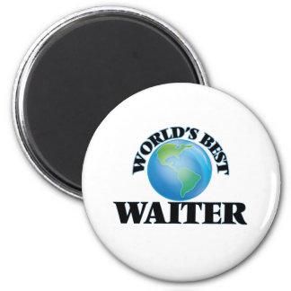 World's Best Waiter Magnet