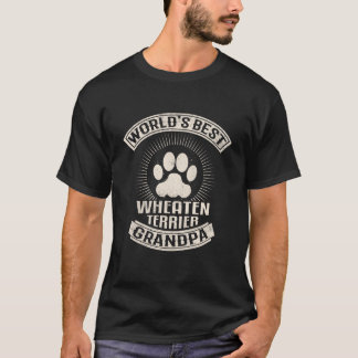 World's Best Wheaten Terrier Grandpa T-Shirt