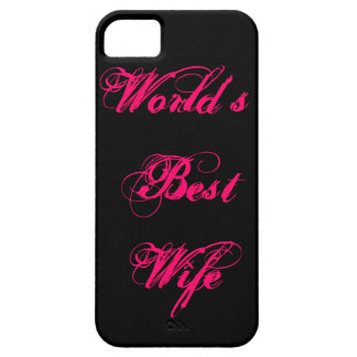 World's Best Wife iPhone 5 Case