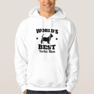 Worlds Best Yorkie Mom Hoodie