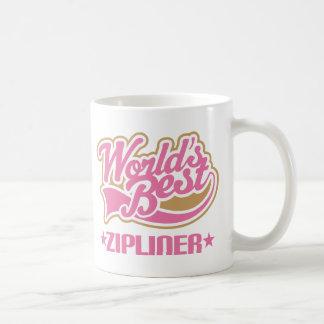 Worlds Best Zipliner Coffee Mug
