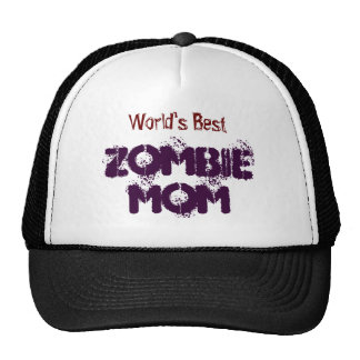 worlds-best-zombie-mom-hat cap