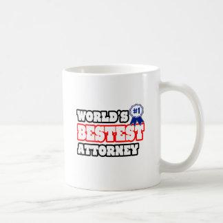 World's Bestest Attorney Mugs