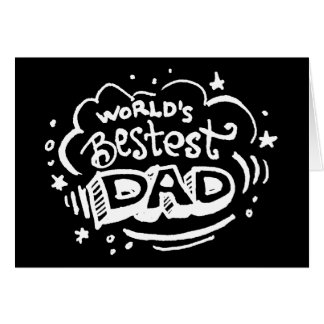 World's Bestest Dad 2 Card