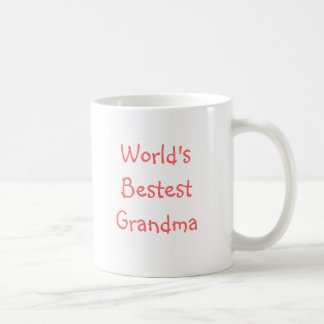 World's Bestest Grandma Coffee Mug