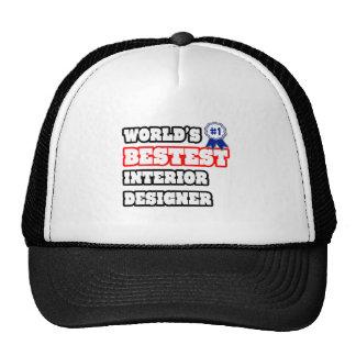 World's Bestest Interior Designer Mesh Hat
