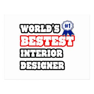 World's Bestest Interior Designer Post Card