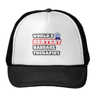 World's Bestest Massage Therapist Cap