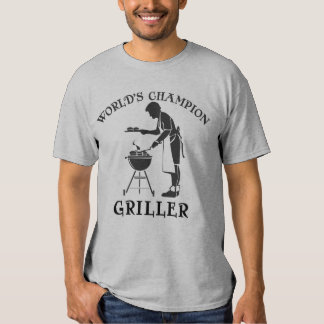 World's Champion Griller Father's Day Tee