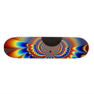 Worlds Collide - Fractal Skate Deck