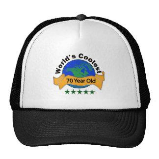 World's Coolest 70 Year Old Trucker Hat