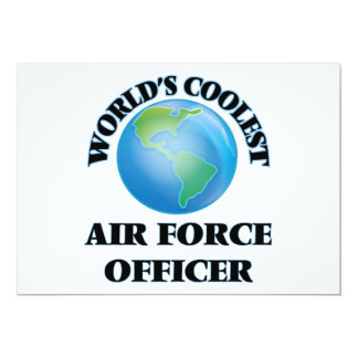 wORLD'S COOLEST aIR fORCE oFFICER Personalized Invite