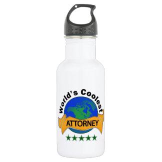 World's Coolest Attorney 532 Ml Water Bottle