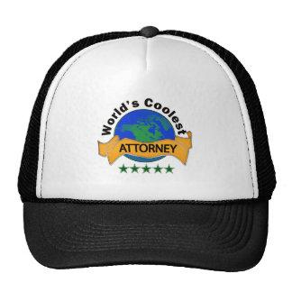 World's Coolest Attorney Cap