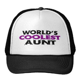 Worlds Coolest Aunt Cap