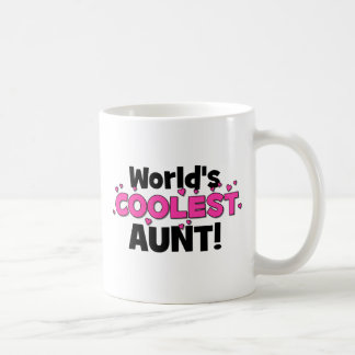 World's Coolest Aunt!  Great gift for Auntie To Be Mug