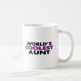 Worlds Coolest Aunt Mugs