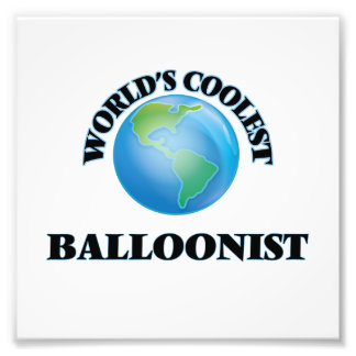 World's coolest Balloonist Photo Print