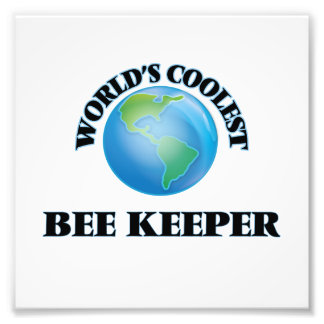 World's coolest Bee Keeper Photographic Print