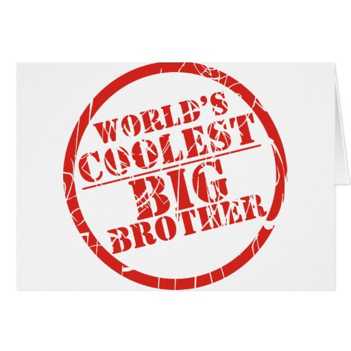 World's Coolest Big Brother Cards