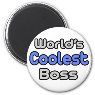World's Coolest Boss Fridge Magnets