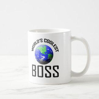 World's Coolest Boss Coffee Mug