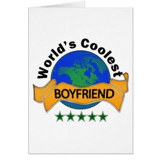 World's Coolest Boyfriend Card