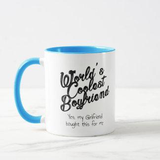 World's Coolest Boyfriend Mug