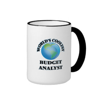World's coolest Budget Analyst Coffee Mugs