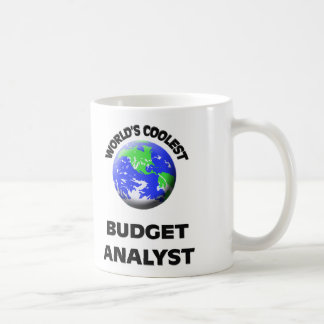 World's Coolest Budget Analyst Mugs