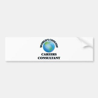 World's coolest Careers Consultant Bumper Sticker