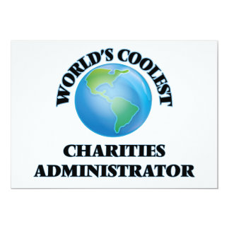 World's coolest Charities Administrator Invites