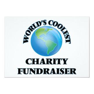 World's coolest Charity Fundraiser Announcement Card