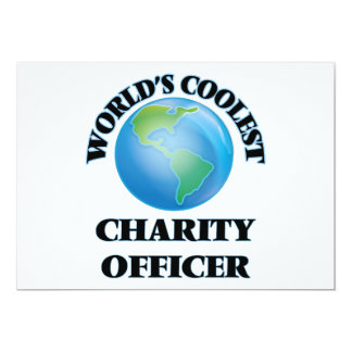 World's coolest Charity Officer Invites