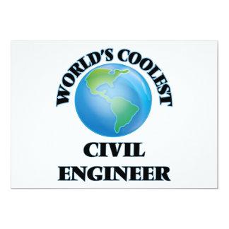 World's coolest Civil Engineer Invitations