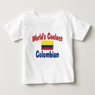 World's Coolest Colombian T Shirt