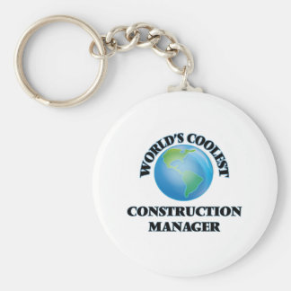 World's coolest Construction Manager Keychain