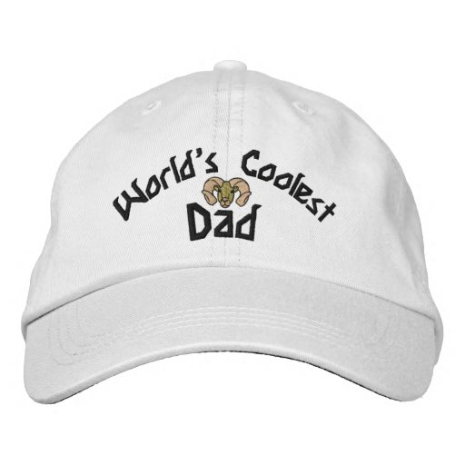 World's Coolest Dad Embroidered Hat