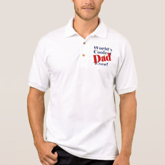 World's Coolest Dad Ever Father's Day Gift Polo Shirt