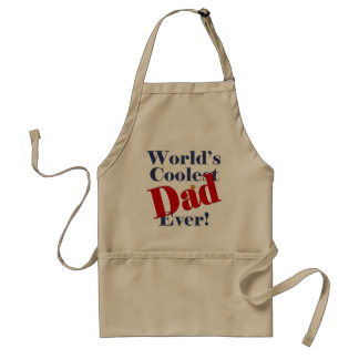World's Coolest Dad Ever Father's Day Gift Standard Apron