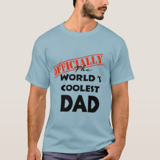 world's coolest dad shirt gift idea for father