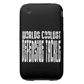 Worlds Coolest Defensive Tackle Tough iPhone 3 Covers