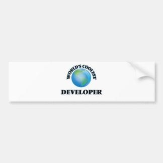World's coolest Developer Bumper Sticker