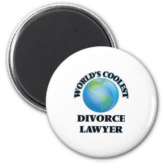World's coolest Divorce Lawyer Refrigerator Magnets