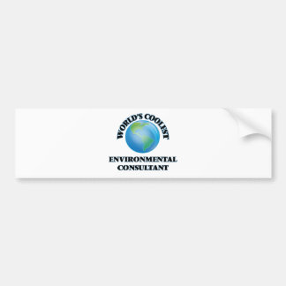 World's coolest Environmental Consultant Bumper Stickers