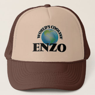 World's Coolest Enzo Trucker Hat