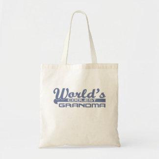 World's Coolest Grandma Budget Tote Bag